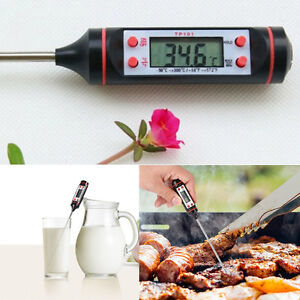 Digital-Kitchen-Food-Probe-Cooking-BBQ-Meat-Steak-Water-Wine-Thermometer-hot