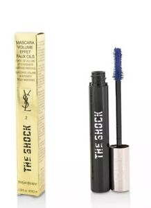 Brand-New-YSL-Yves-Saint-Laurent-The-Shock-Mascara-8-2ml-28Oz-Asphalt-Black-Nib