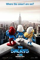 The Smurfs Original Double-sided Advance Rolled Movie Poster 27x40 2011