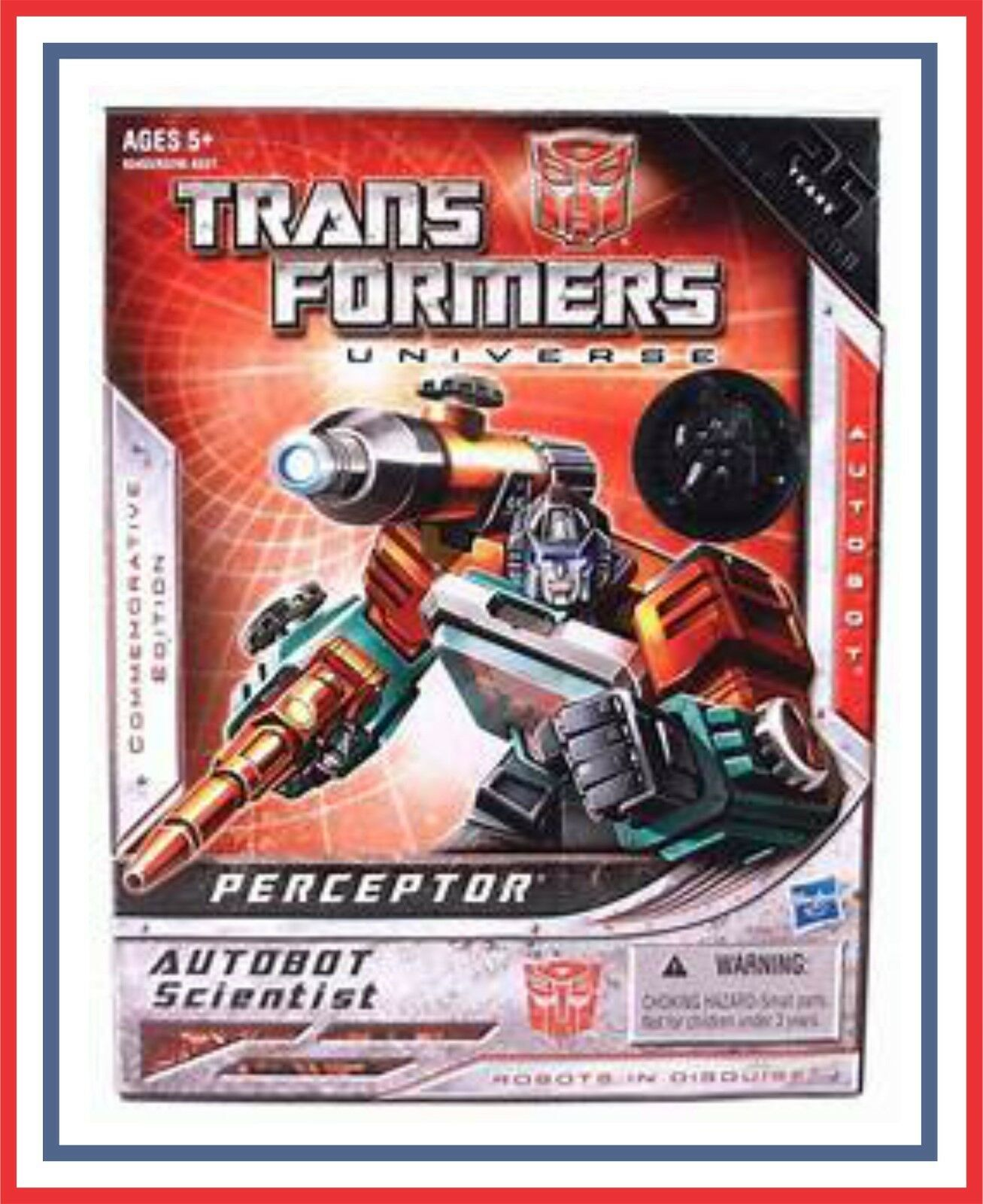 Transformers 25th Anniversary _ Toys R Us _ Gen 1 _ Perceptor_ (MIB)