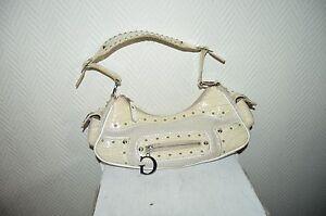 Petit Sac A Main Guess Simili Cuir Et Textile / Bag/bolsa