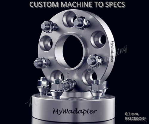 Merit Wheel Spacer Adapters 25 mm 5x108 To 5x114.3 Hub Centric X2 Ford Jaguar XF