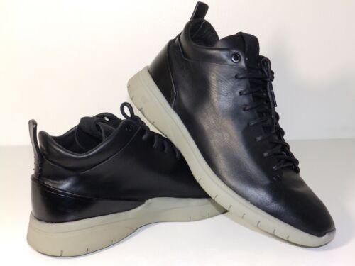 Feit Cuero Blancos botas talla 10 Reino Unido