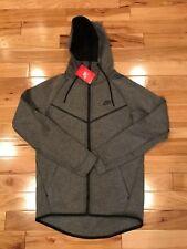 Nike Mens Sportswear Tech Fleece Hoodie Sz XXL Gray Zip Windrunner 805144 091