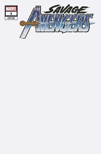 Savage-Avengers-Comic-Issue-1-Limited-Blank-Variant-Modern-Age-First-Print-2019