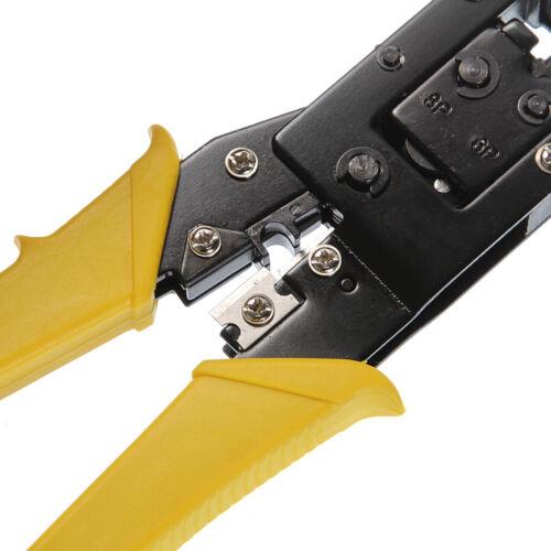 RJ11//RJ12//RJ45 8P 8P8C 6P6C 6P4C Network Cable Modular Stripper Crimping Tools