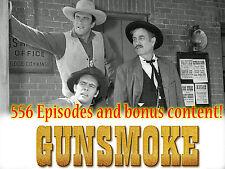 Gunsmoke Radio Show - OTR - 556 Episodes and Extras! - 2 MP3 DVDs W/CASE