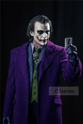DAFTOYS 1//4 JOKER Purple Coat Overcoat Clothing Model Fit 1//4  Figure Toys