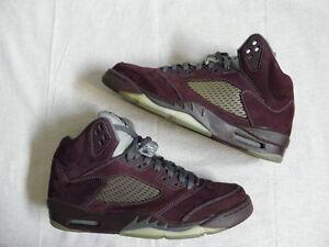 c45b181ebbfd79 Nike Air Jordan V 5 Five Retro LS BURGUNDY size 10.5 VNDS laser ...