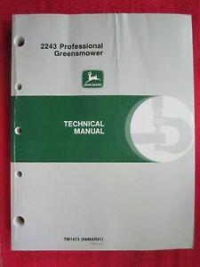 JOHN-DEERE-2243-PROFESSIONAL-GREENSMOWER-TECHNICAL-REPAIR-MANUAL-TM1473