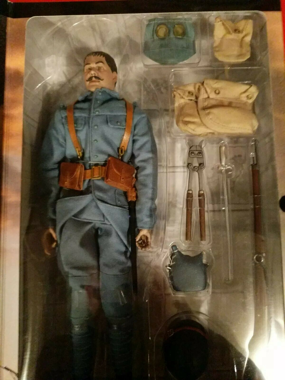 Sideshow Bayonets & Barbed Wire French Rifleman