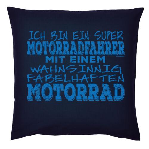 Biker Coussins du canapé-amusante proverbes//motifs Biker Cadeau motorradfan-DECO