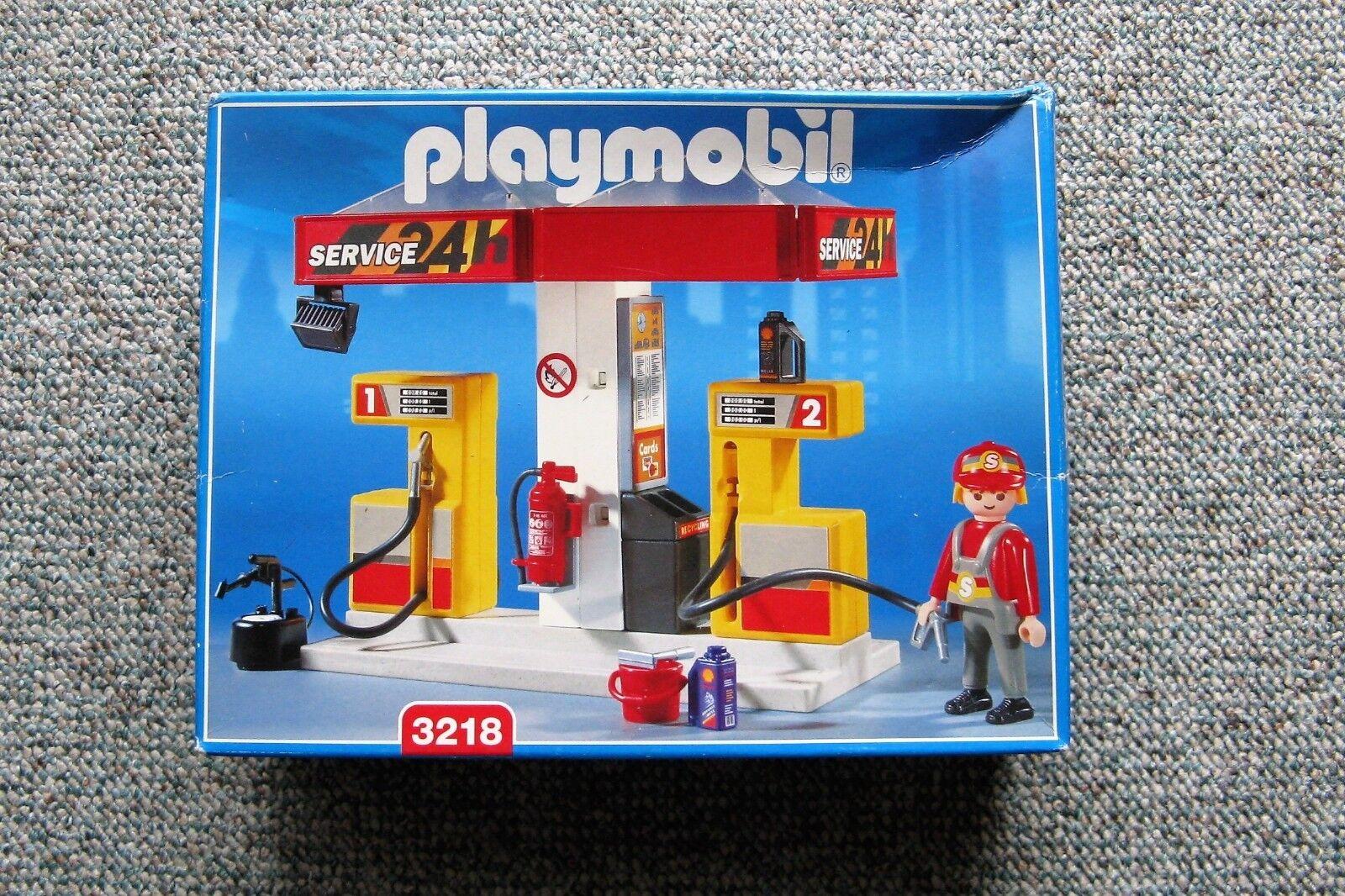 Playmobil 3218 - Tankstelle NEU Sammler + OVP MISB für Sammler NEU ce02b0