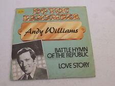 "ANDY WILLIAMS - Battle Hymn of the Republic - Dutch 7"" Juke Box Vinyl Single"