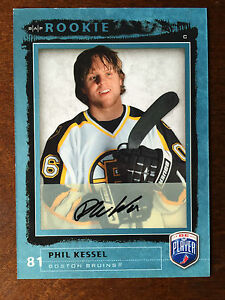2006-07-Be-A-Player-Phil-Kessel-Autograph-RC-Rookie-Auto-Pittsburgh-Penguins