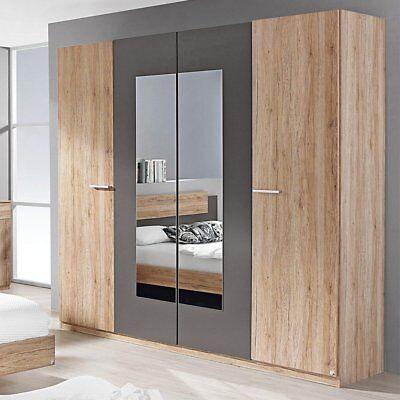 Mercers Furniture Rauch 4 door Borba wardrobe 2.18m