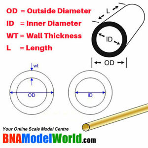 K-amp-S-Metals-Round-Brass-Tube-OD-3mm-L-300mm-WT-0-45mm-4pcs