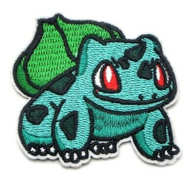 """Iron On Applique Apx 3.00/"""" Mewtwo Patch Pokemon Embroidered Sew"""
