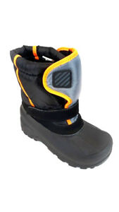Ozark Trail Toddler Boys Orange//Black Temp Rated Winter Boots Size  5 6