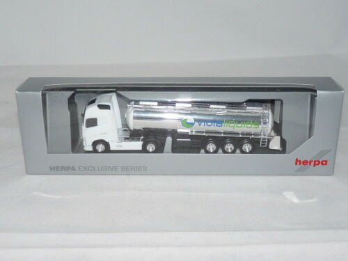 herpa 922685 Volvo FH GL XL Lebensmitteltank-Sattelzug Viola Trans NEU OVP