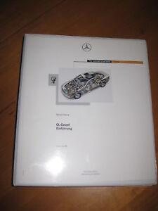 Mercedes-Benz-Einfuehrung-intern-CL-215-Coupe-Kompletter-Ordner-ZKD
