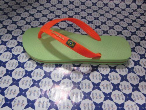 Verde//Arancio 80408   879 Ciabatta Ipanema Infradito Brasil Donna