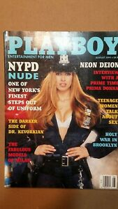 Vintage August 1994 Playboy - featuring The Women Of the NYPD Nude!