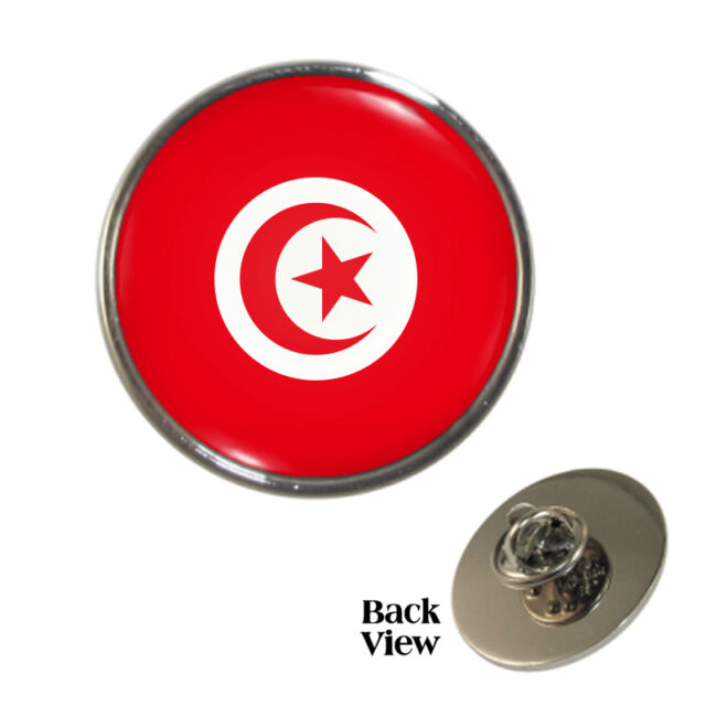 Tunisian Flag Metal Pin Badge tunisia world cup tunis africa Brand New