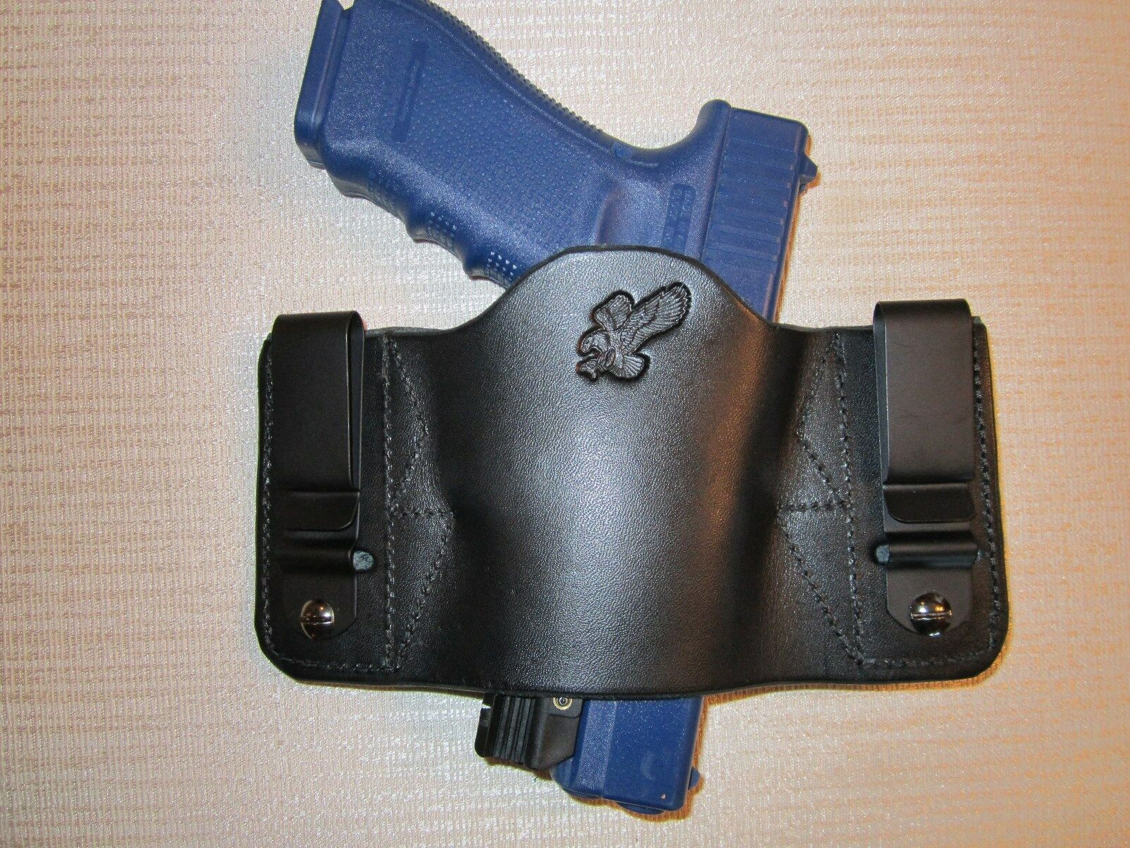 FITS KAHR WITH LASERS,FULLY AMB. & UNIVERSAL FIT, IWB OR OWB, R & L HAND