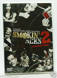 Smokin-039-Aces-2-Assassin-039-s-Ball-DVD-Region-2-NEW-SEALED