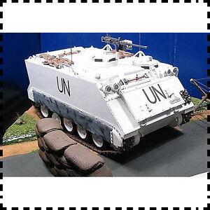 1-25-Scale-UN-M113-armored-Personnel-Carrier-DIY-Handcraft-Paper-Model-Kit