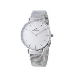 NUOVO-DANIEL-WELLINGTON-DW00100164-Petite-Sterling-Watch-32-mm-2-anni-di-garanzia