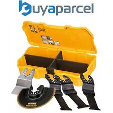 Dewalt DT20715 Multi Tool Accessory Blade Set 5 Piece + Toughcase DCS355 DWE315
