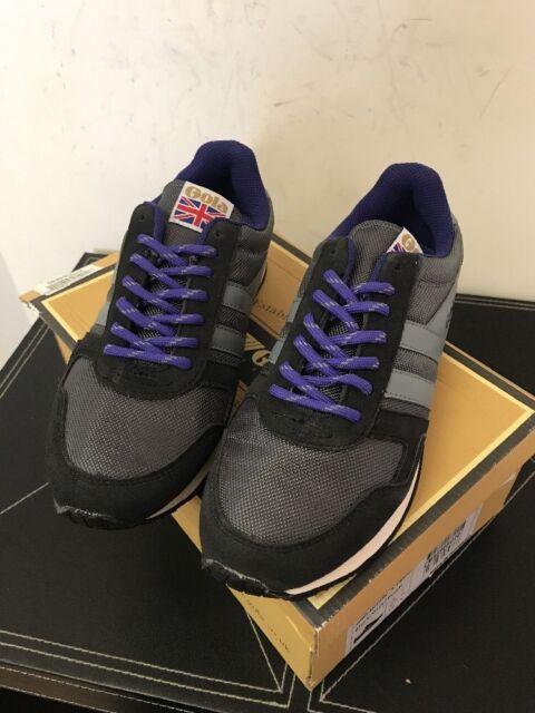 New Men's Gola Spirit Ballistic Grey /& Black Sneakers EU SZ 42 US SZ 9 $85