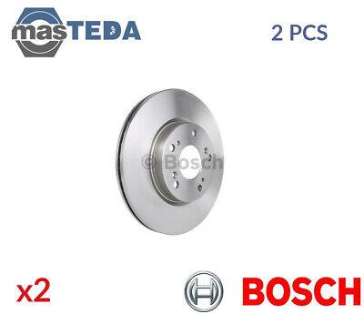 internally ventilated 2 Brake Disc front of Holes 5 No febi bilstein 15089 Brake Disc Set