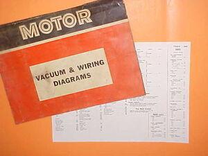 1967 1968 1969 1970 1971 Ford Galaxie 500 Xl Ltd Custom Vacuum Wiring Diagrams Ebay
