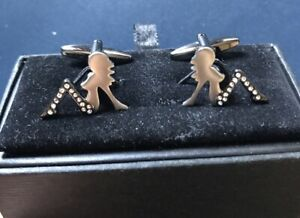 New Austin Reed Men S Shirt Cufflinks Unique Sexy Female Novelty Gift Ebay