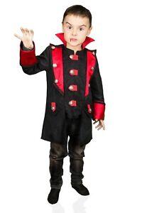Edel-Dracula-Kinder-Jacke-Kostuem-Jungen-Karnevalskostuem-Karneval-Vampir-Fasching