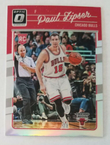 2016-17 Donruss Optic Basketball Silver Prizm Refractor Rookie - PAUL LIPSER