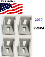 4pcs 3030 Corner Fitting Angle Aluminum 35 X 35 L Connector Bracket Fastener