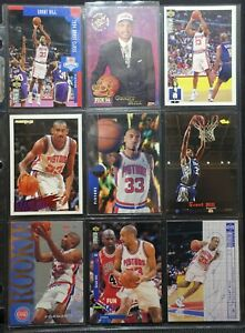 Details About Grant Hill 9 Nba Cards Upper Deck Fleer Topps Nba Hoops Skybox Rookie Card