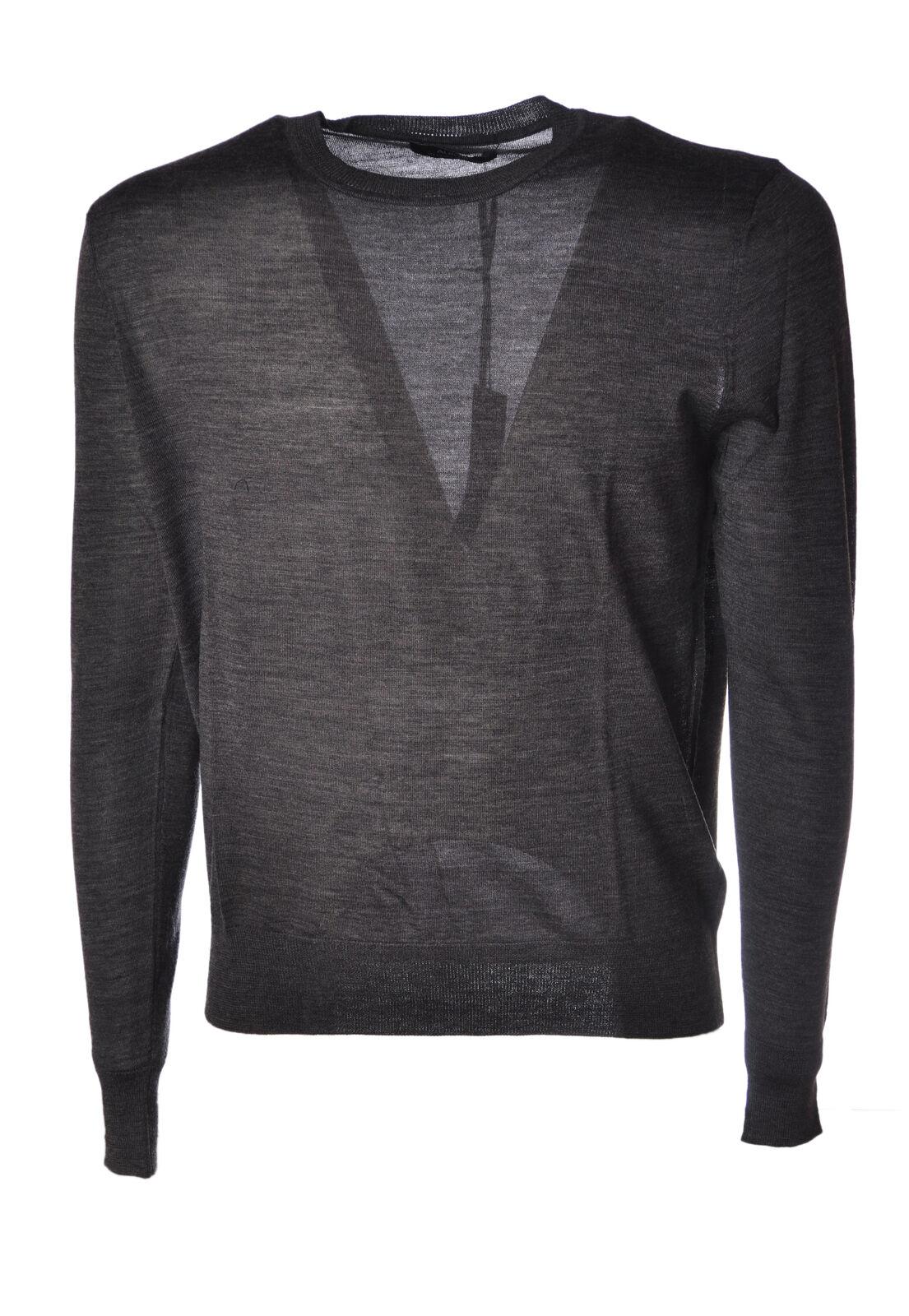 Alpha  -  Sweaters - Male - grau - 4566523A184542