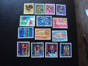 Switzerland-Stamp-Yvert-and-Tellier-N-824-A-837-Obl-A2-Stamp-Switzerland-A