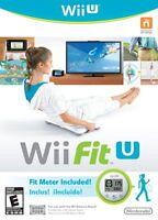 Nintendo Wii Fit U W/fit Meter Wii U Wii Balance Board Fitness Accessories Game
