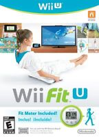 Nintendo Wii Fit U W/fit Meter Wii U Wii Balance Board Fitness Accessories Game