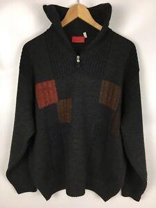 Danilo Vintage Pullover Größe L Merino Wolle