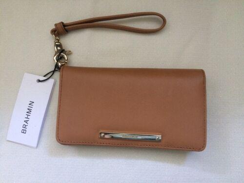 Brahmin Wallet Tan Leather M49 1376 00233