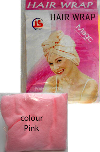 MAGIC QUICK DRY HAIR WRAP TURBAN SUPER SOFT TOWEL LUXURY CAP HAT New