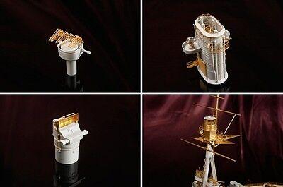 ★Hobby365★ Neu 1//200 BISMARCK TURRET DETAIL-UP SET for Trumpeter #MS20002
