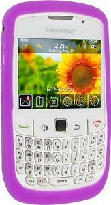 Pro-Tec-Flex-Silicone-Case-Cover-for-BlackBerry-8520-9300-Purple